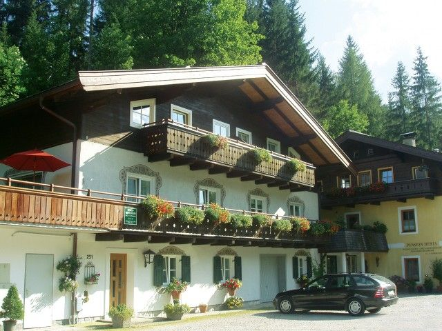 Pension Herta in Lofer im Winter