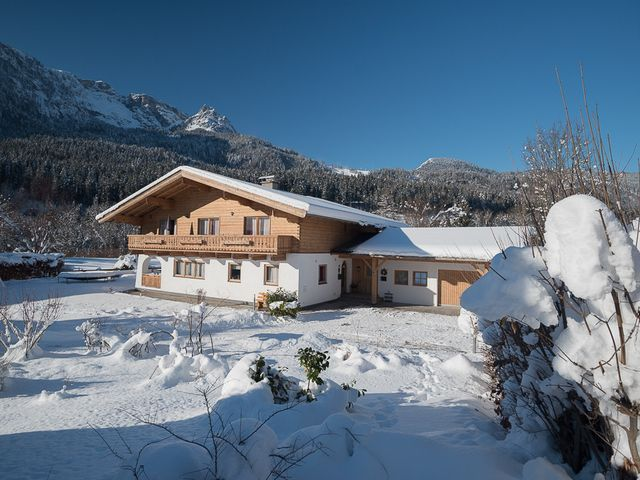 Haus Alpenblick in Lofer im Winter