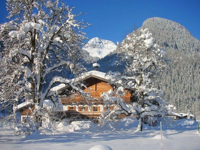 Pension Müllergut in St. Martin bei Lofer im Winter